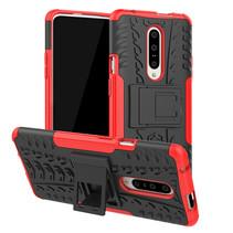 OnePlus 7 hoesje - Schokbestendige Back Cover - Rood