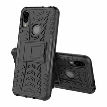 Xiaomi Redmi 7 hoesje - Schokbestendige Back Cover - Zwart