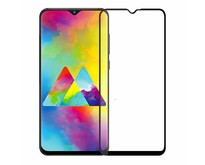Samsung Galaxy M20 - Full Cover Screenprotector - Gehard Glas - Zwart