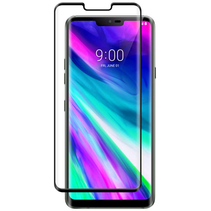 LG G8 ThinQ - Full Cover Screenprotector - Zwart