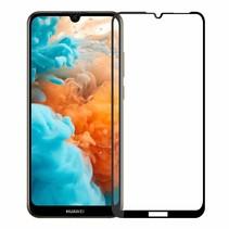 Huawei Y6 2019 - Full Cover Screenprotector - Zwart