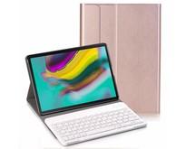 Samsung Galaxy Tab S5e - Bluetooth toetsenbord hoes - Rose-Gold
