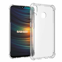 Samsung Galaxy M20 hoes - Anti-Shock TPU Back Cover - Transparant