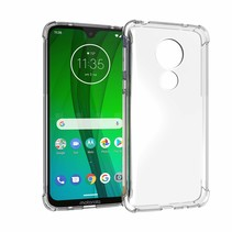 Motorola Moto G7 hoes - Anti-Shock TPU Back Cover - Transparant