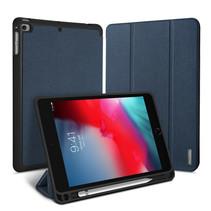 iPad Mini 7.9 (2019) hoes - Dux Ducis Domo Book Case met stylus pen houder - Blauw