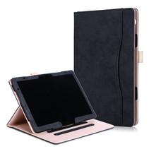 Huawei Mediapad T5 hoes - Wallet Book Case - Zwart