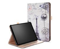iPad Pro 11 hoes - Wallet Book Case - Eiffeltoren