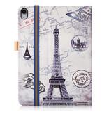 Case2go iPad Pro 11 hoes - Wallet Book Case - Eiffeltoren