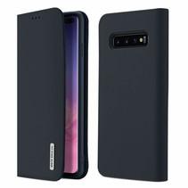 Samsung Galaxy S10 Plus hoesje - Dux Ducis Wish Wallet Book Case - Blauw