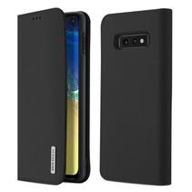 Samsung Galaxy S10e hoesje - Dux Ducis Wish Wallet Book Case - Zwart