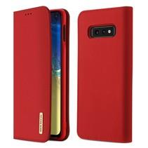 Samsung Galaxy S10e hoesje - Dux Ducis Wish Wallet Book Case - Rood