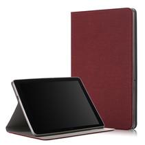 Huawei MediaPad T5 10 - Book Case met TPU cover - Donker Rood