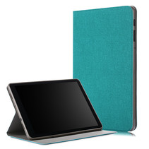 Samsung Galaxy Tab A 10.5 - Book Case met TPU cover - Turquoise