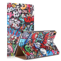 Xiaomi Mi Pad 4 8.0 - Book Case met TPU cover - Graffiti