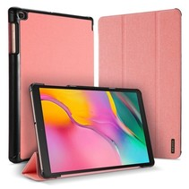 Samsung Galaxy Tab A 10.1 (2019) hoes - Dux Ducis Domo Book Case - Roze