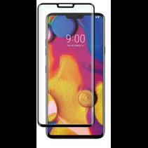 LG V40 ThinQ - Full Cover Screenprotector - Zwart