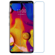 LG V40 - Tempered Glass Screenprotector - Case-Friendly