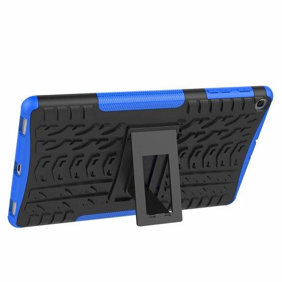 Case2go Samsung Galaxy Tab A 10.1 2019 - Schokbestendige Back Cover - Blauw