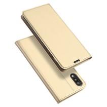 Samsung Galaxy M10 hoes - Dux Ducis Skin Pro Series - Goud