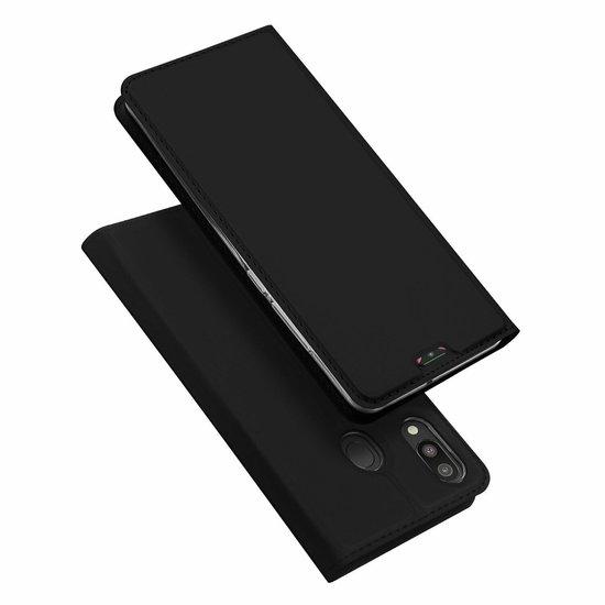 Dux Ducis Samsung Galaxy M20 hoes - Dux Ducis Skin Pro Series - Zwart