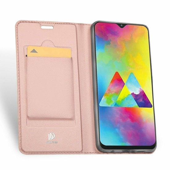 Dux Ducis Samsung Galaxy M20 hoes - Dux Ducis Skin Pro Series - Rosé-Gold