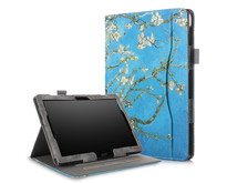 Lenovo Tab P10 hoes - Wallet Book Case - Witte Bloesem