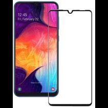 Samsung Galaxy A20e - Full Cover Screenprotector - Gehard Glas - Zwart
