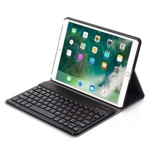 iPad Air 10.5 (2019) Case - Bluetooth Toetsenbord Hoes - Zwart