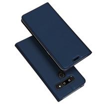 LG G8 ThinQ hoesje - Dux Ducis Skin Pro Book Case - Donker Blauw