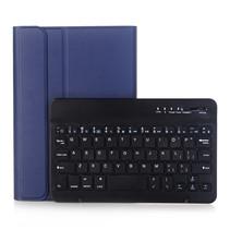 iPad Mini 7.9 inch (2019) Case - Bluetooth Toetsenbord hoes met stylus pen houder - Blauw