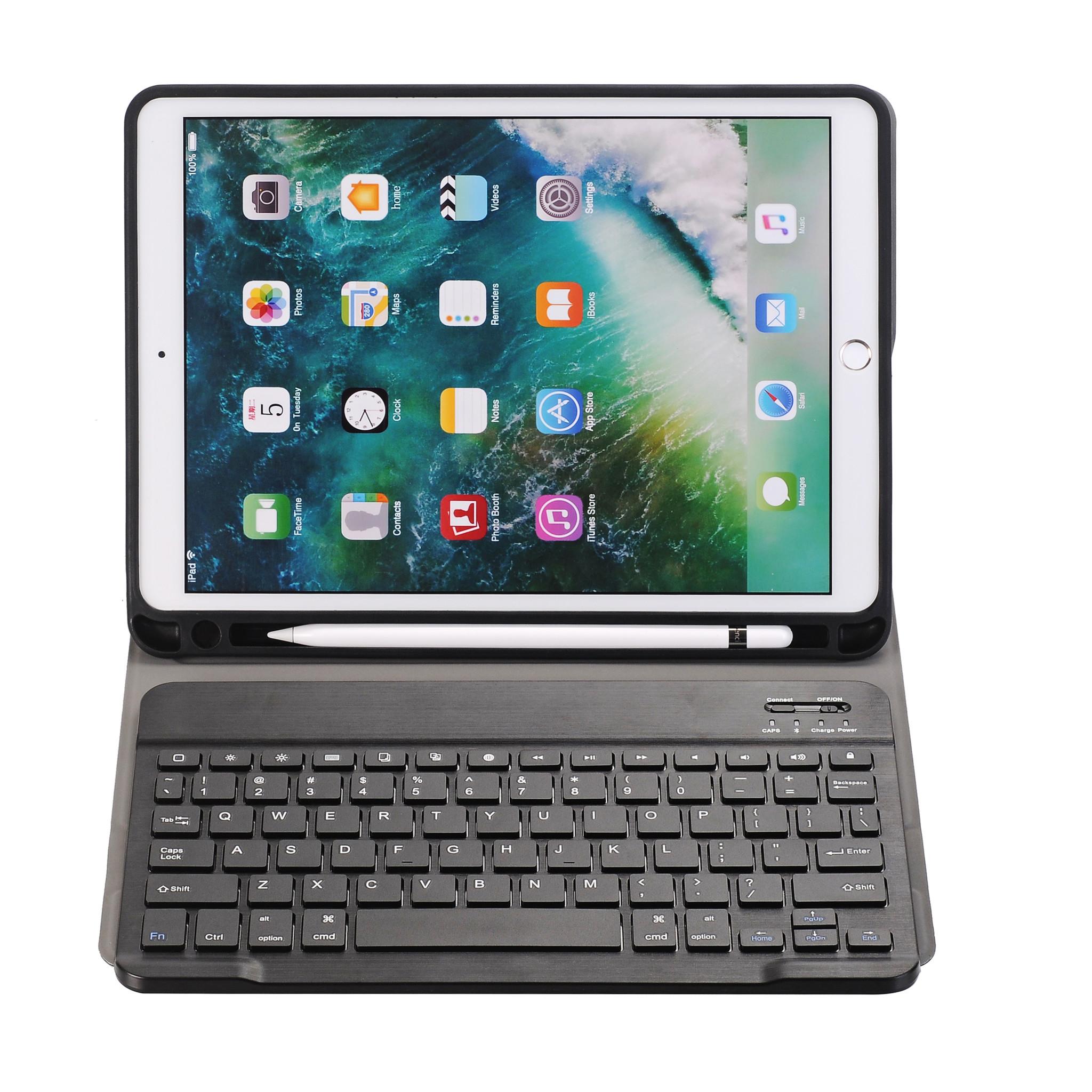 iPad Air 10.5 (2019) Case - Bluetooth Toetsenbord Hoes met Stylus pen  Case2go.nl