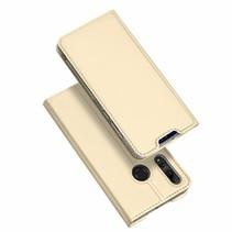 Huawei P Smart Plus (2019) hoesje - Dux Ducis Skin Pro Book Case - Goud