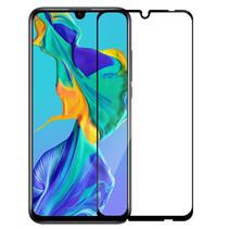 Huawei P Smart Plus 2019 - Full Cover Screenprotector - Gehard Glas - Zwart