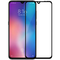 Xiaomi Redmi Note 7 - Full Cover Screenprotector - Zwart