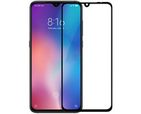Xiaomi Redmi 7 - Full Cover Screenprotector - Zwart