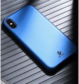 Dux Ducis iPhone X / XS hoes - Dux Ducis Skin Lite Back Cover - Blauw