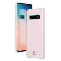 Samsung Galaxy S10 hoes - Dux Ducis Skin Lite Back Cover - Roze