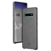 Samsung Galaxy S10 Plus hoes - Dux Ducis Skin Lite Back Cover - Zwart