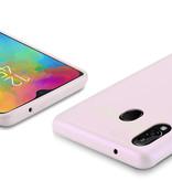 Dux Ducis Samsung Galaxy M20 hoes - Dux Ducis Skin Lite Back Cover - Roze