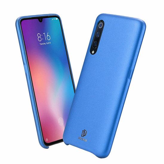 Dux Ducis Xiaomi Mi 9 hoes - Dux Ducis Skin Lite Back Cover - Blauw