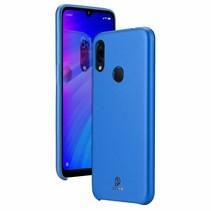 Xiaomi Redmi 7 hoes - Dux Ducis Skin Lite Back Cover - Blauw