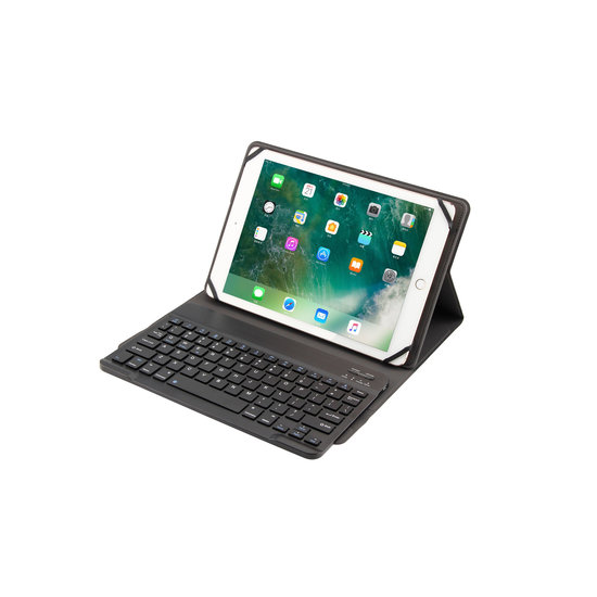 Case2go Universele Asus Bluetooth Toetsenbord hoes - 10 inch - Zwart