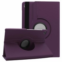 Samsung Galaxy Tab S5e hoes - Draaibare Book Case - Paars