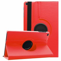Samsung Galaxy Tab A 10.1 (2019) hoes - Draaibare Book Case  - Rood