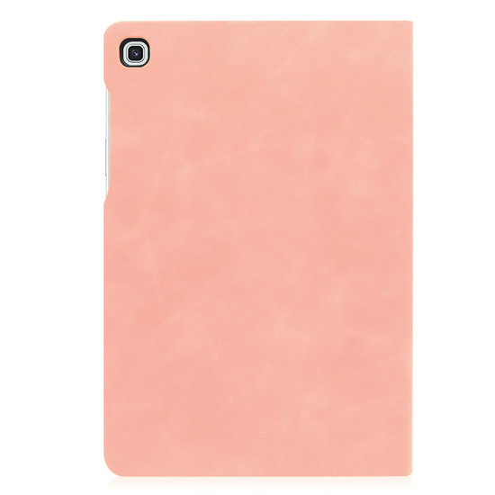 Case2go Samsung Galaxy Tab S5e hoes - PU Leer Folio Book Case - Roze