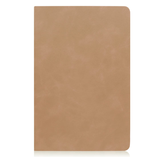 Case2go Samsung Galaxy Tab S5e hoes - PU Leer Folio Book Case - Licht Bruin