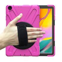 Samsung Galaxy Tab A 10.1 (2019) Cover - Hand Strap Armor Case - Magenta