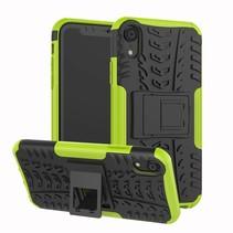 iPhone XR hoes - Schokbestendige Back Cover - Groen
