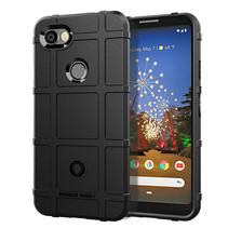 Google Pixel 3a XL hoes - Heavy Armor TPU Bumper - Zwart