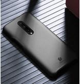 Dux Ducis OnePlus 7 Pro hoes - Dux Ducis Skin Lite Back Cover - Zwart